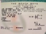 The Beach Boys TICKET.JPG